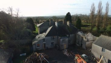Conservation of 8 bed 19th Century Meath Country House